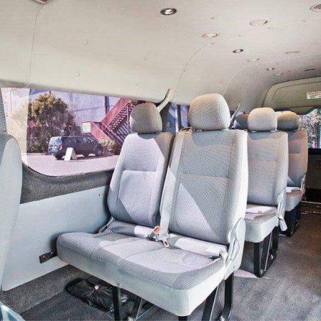 11 - 13 Seat Minibus Interior