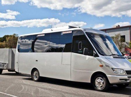 21 passenger Luxury Minibus