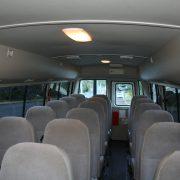 21 Seat MINIBUS Interior