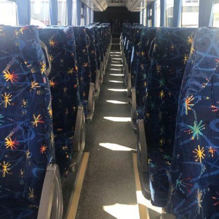 48 Seat Coach Interior