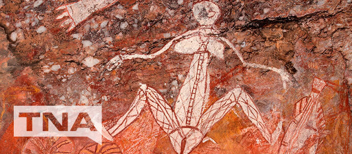 Aboriginal Rock Art in Kakadu National Park Darwin