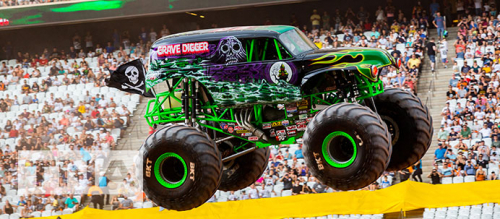 Monster Truck at the Monster Jam