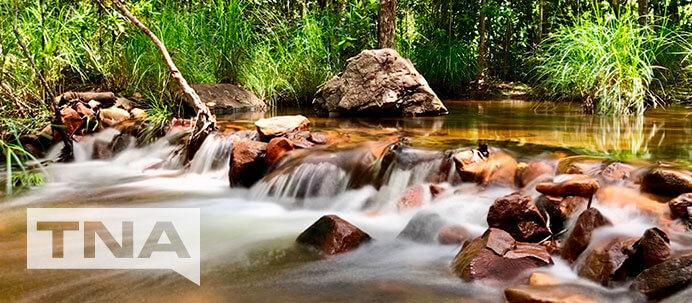 Robin Falls Adelaide River Northern Territory