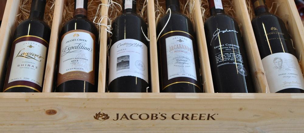 jacob's creek wines
