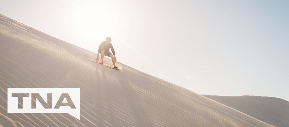 sand boarding wedge island